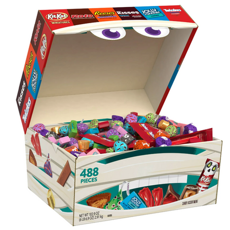 Hershey's 488-Count Box Is Perfect For Halloween!