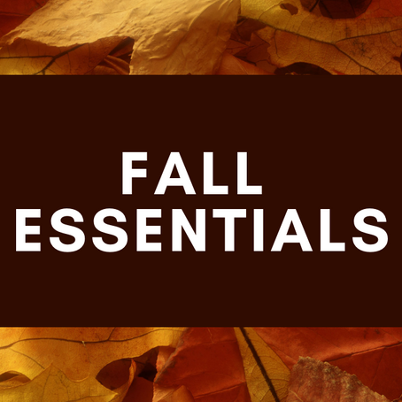 Fall Essentials!