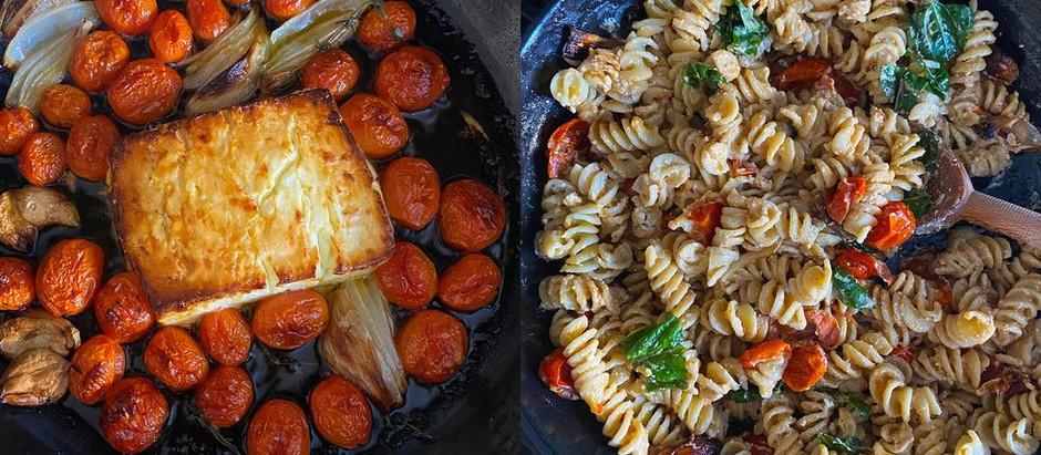 The Famous Baked Feta Pasta Recipe