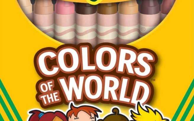 Crayola Colors of the World Crayons & Worksheets