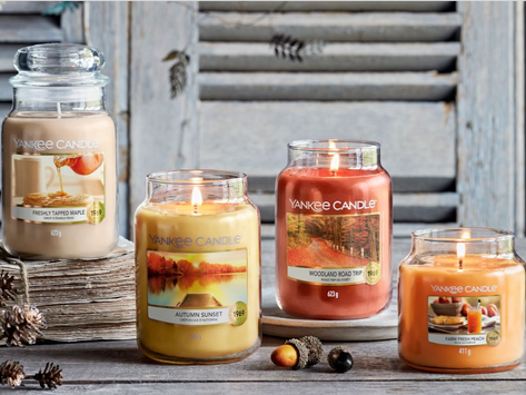 New 2021 Fall Candles!