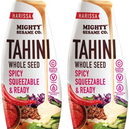 Mighty Sesame's NEW Harissa Tahini!