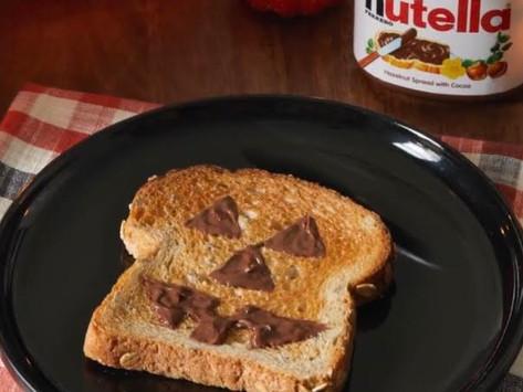 Ferrero: Nutella Jack O-Lantern Toast