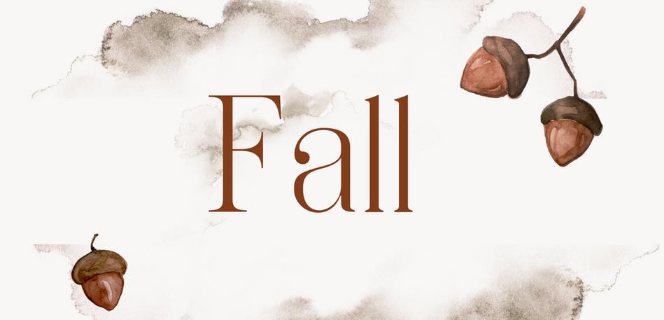 Three Fall Finds!