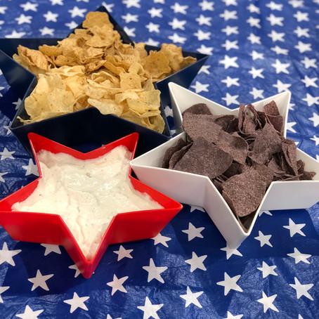 Patriotic Food 'Decor'