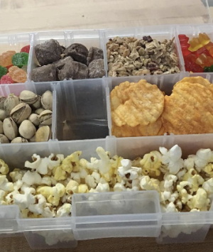 Travel Hack: Tackle Box For Snacks