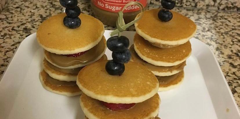 Mini Pancake Stacks!