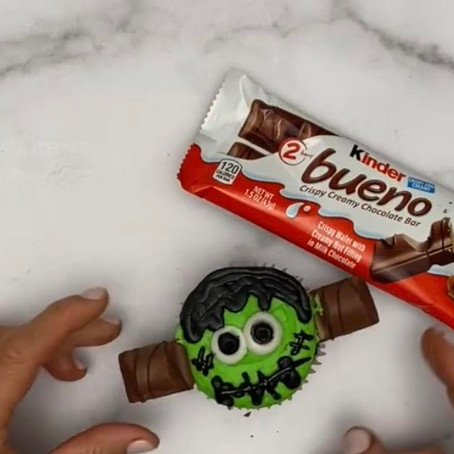 Ferrero: Frankenstein Cupcakes