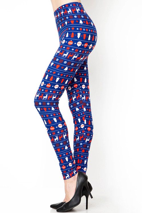 f42fde7ff44347 Christmas Theme Print Yummy Brushed Leggings MOMMY & ME. $ 45.00. for both  leggings are $45
