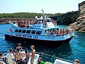 excursiones en barco ibiza excursions