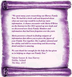 Valerie Sunner & Ann Harvey IE