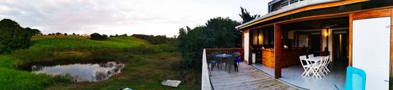 """Photo panoramique de la kaz """"Union Island"""""""