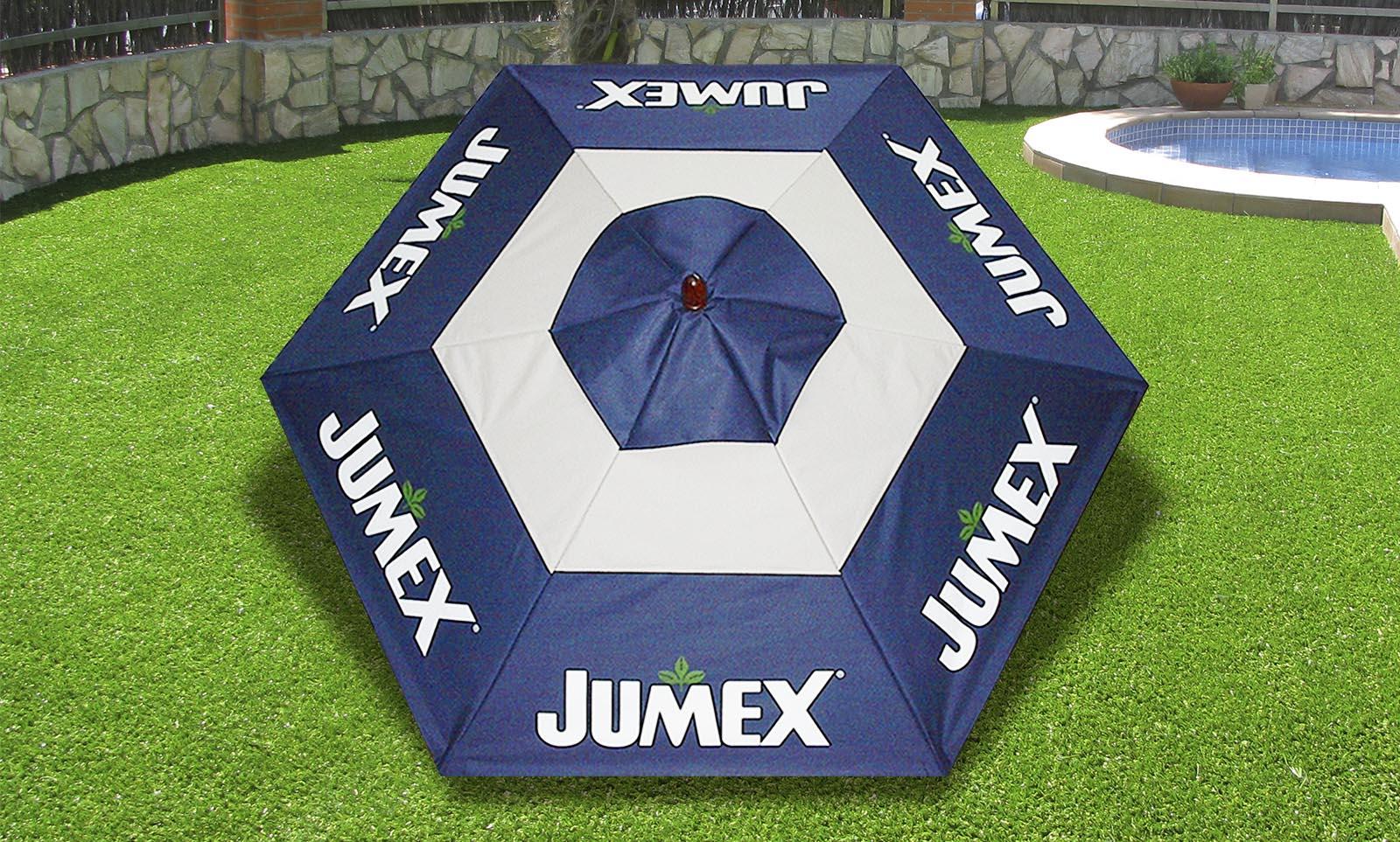Sombrilla en sunbrella