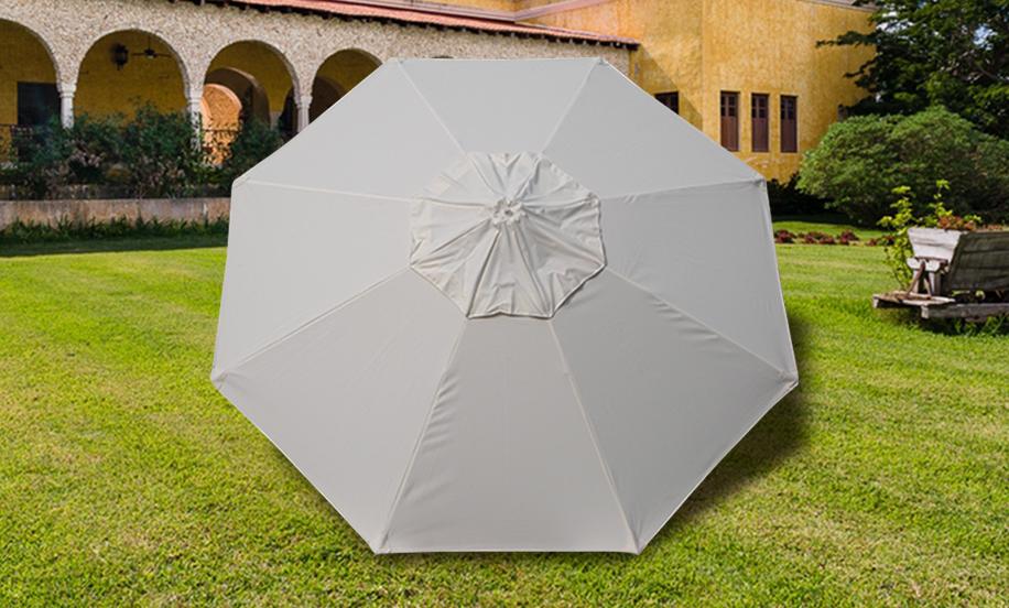 Sombrilla Hotelera en Sunbrella