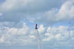 flyboard santa