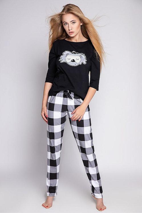 pyjama panda noir 1