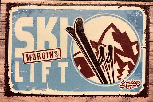 Carte «ski lift»