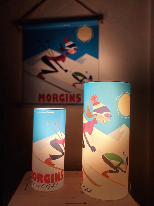 Lampe à poser skieuse 29cm