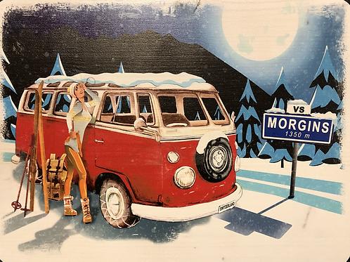 Panneau «bus de nuit»