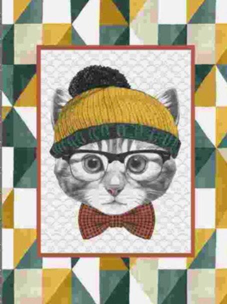 Torchon cuisine chat bonnet