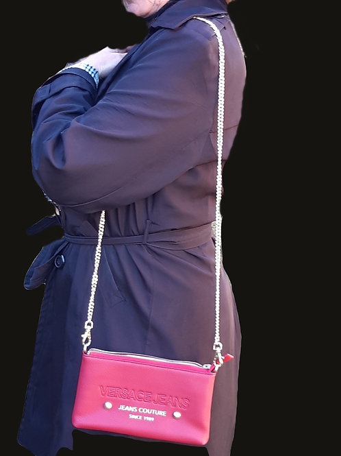 pochette cuir Versace