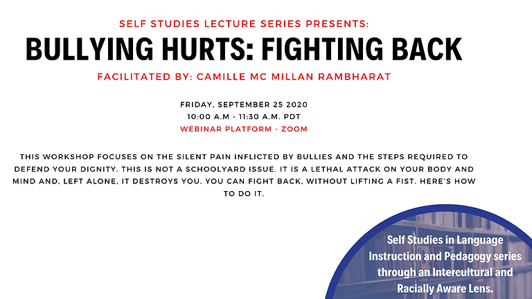 Bullying Hurts: Fighting Back