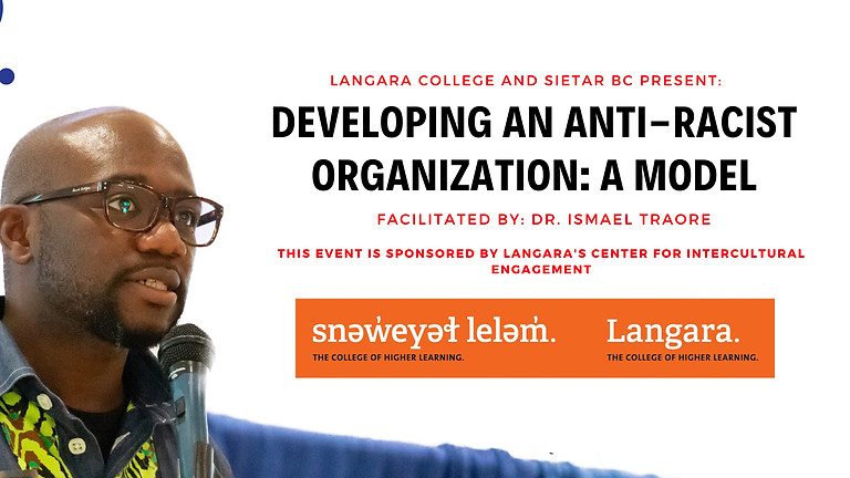 Developing An Anti-racist Organization : A Model