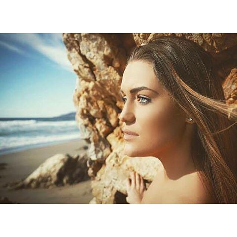 This one was better #malibu #model _odal