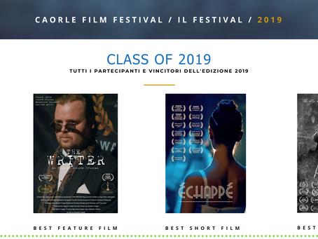 Award: Caorle Film Festival/IL Festival 2019
