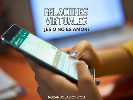 Relaciones virtuales:¿Es o no es amor?