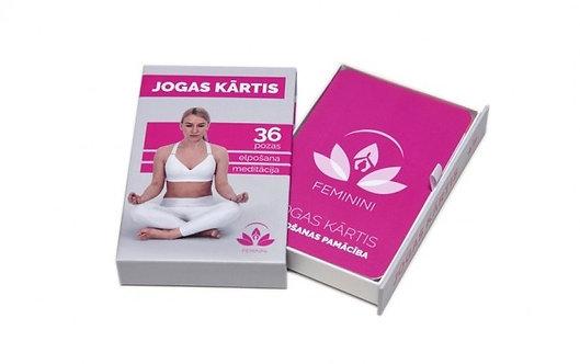 Feminini jogas kārtis
