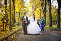 Свадьба. Прогулка.