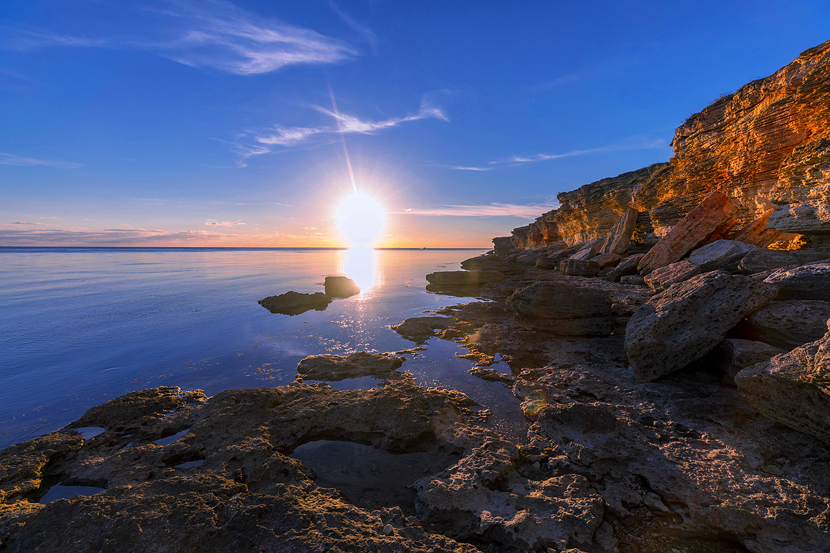 Закат в Крыму.