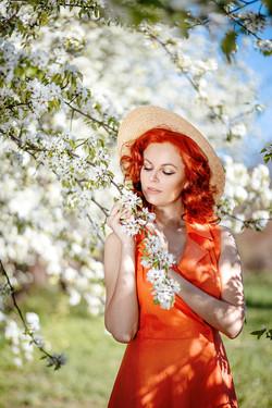 Яблоневый сад_
