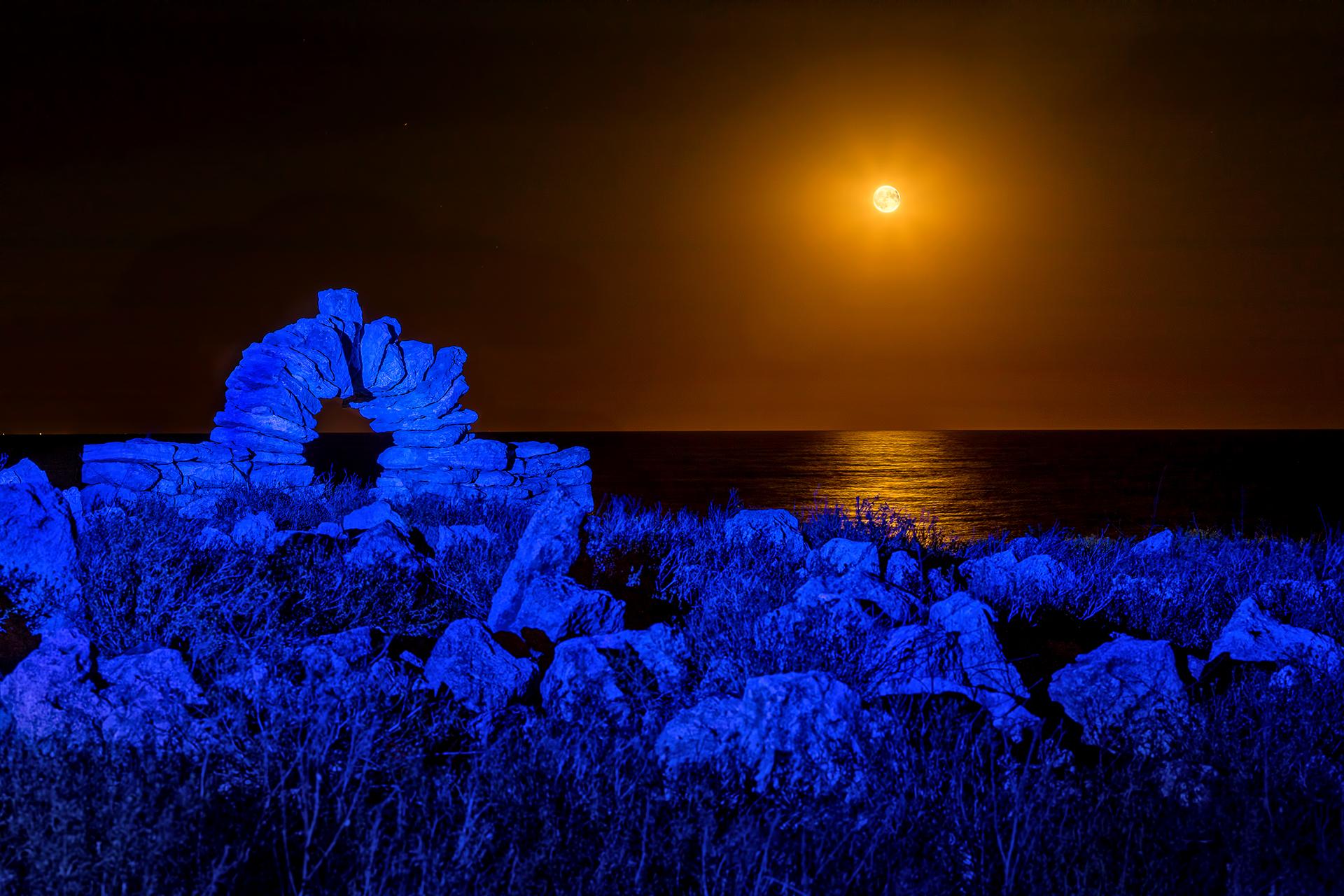 Лунная дорожка. Крым.