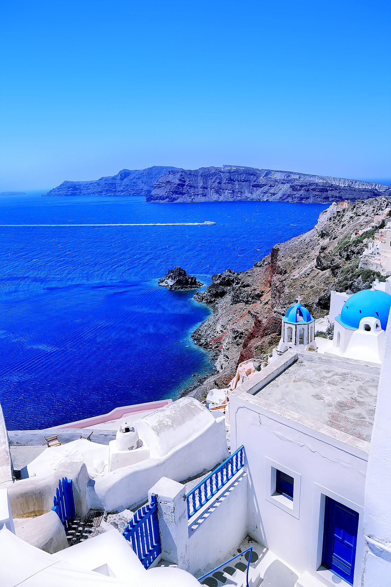 Санторини. Греция.