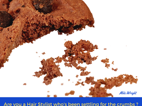 How Long Are You Willing to Settle for Crumbs in your Hair Styling Career?