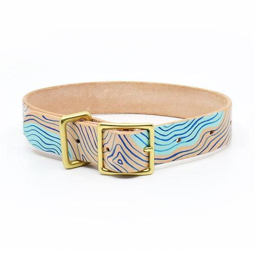 Waves Dog Collar