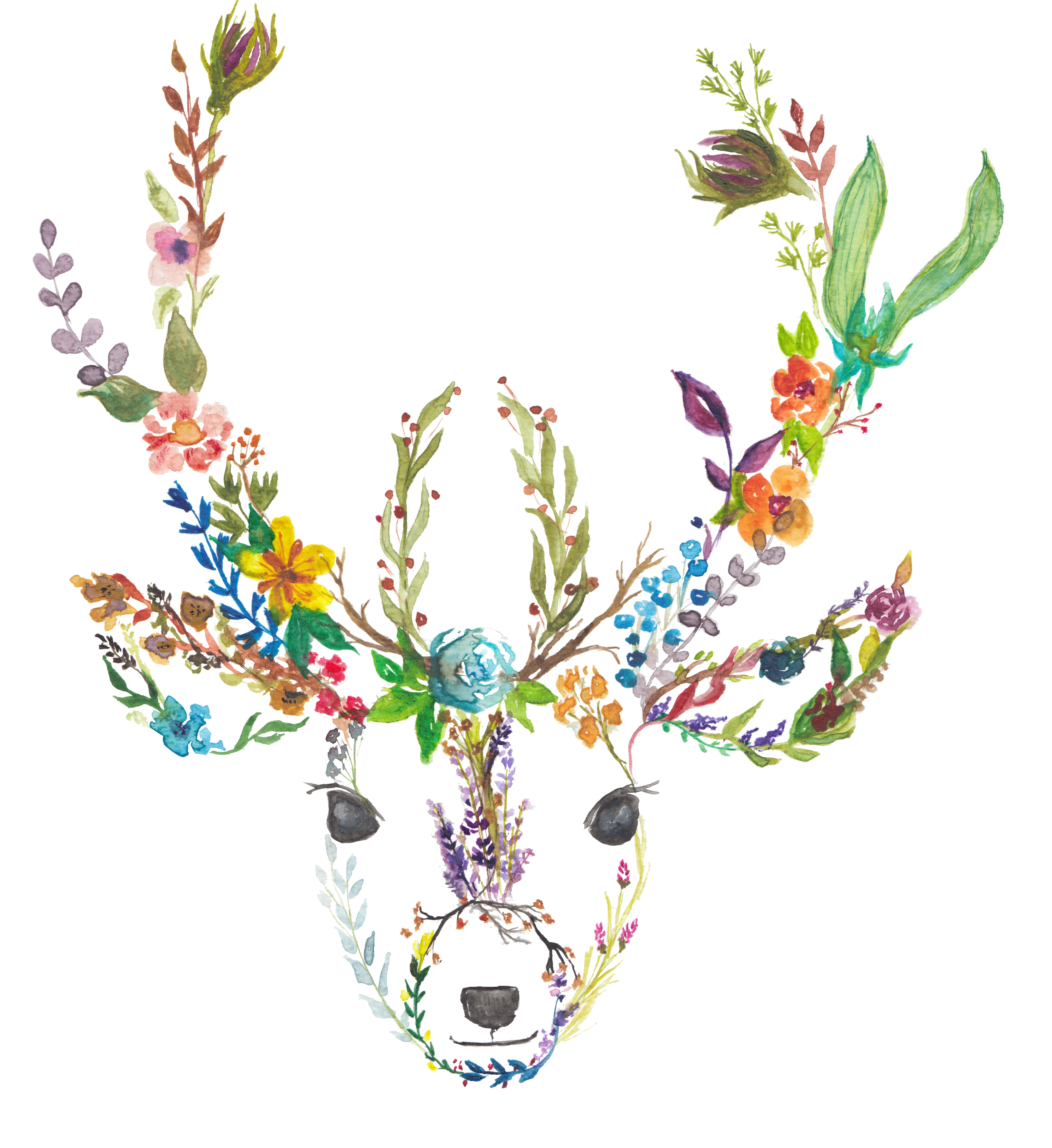 Garden Deer by originalizzie