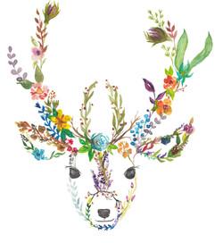 Garden Deer by originalizzie