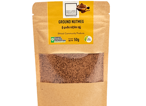 Ceylon Ground Nutmeg 50g