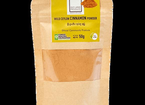 Wild Ceylon Cinnamon Powder 50g
