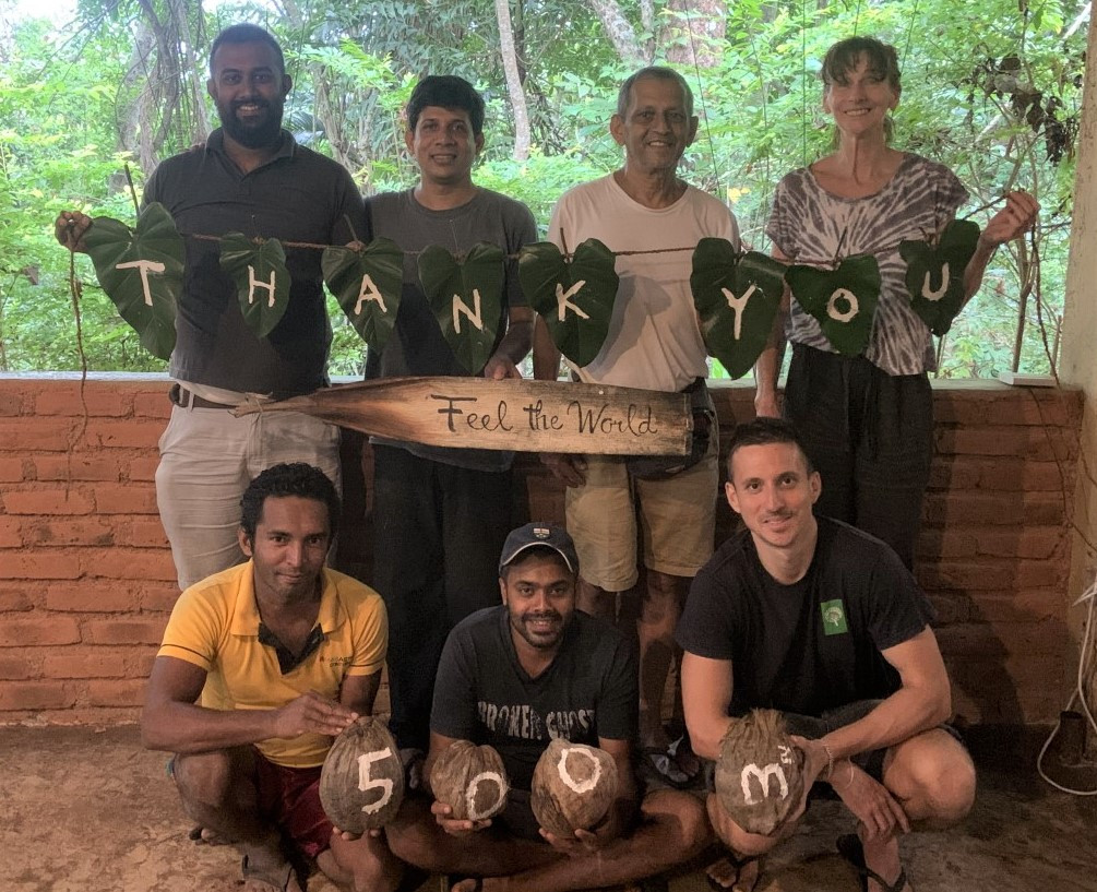 Our thank you to Feel the World