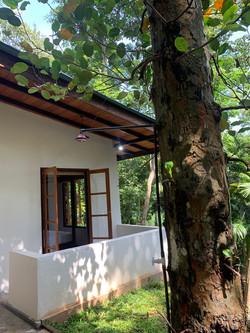 Private balcony of main bedroom