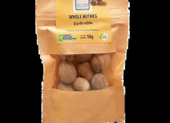 Ceylon Whole Nutmeg 50g