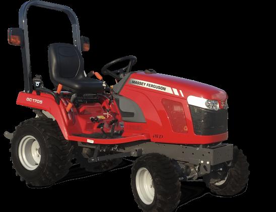 Tracteur Massey Ferguson GC1700