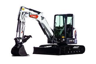 Excavatrice Bobcat E50 png