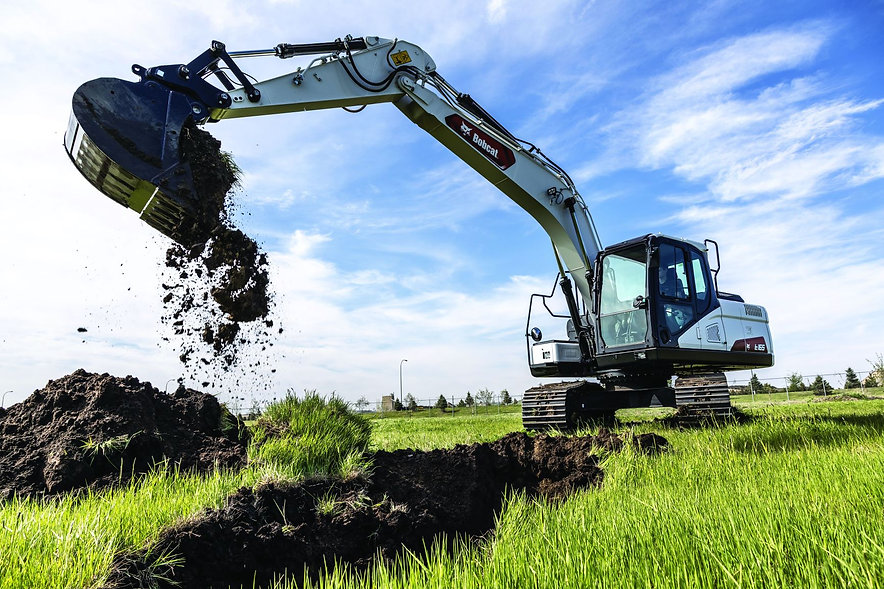 bobcat-e165-digging