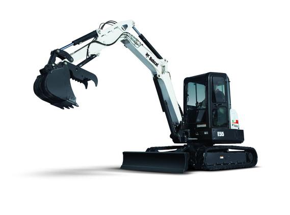 Excavatrice Bobcat E55
