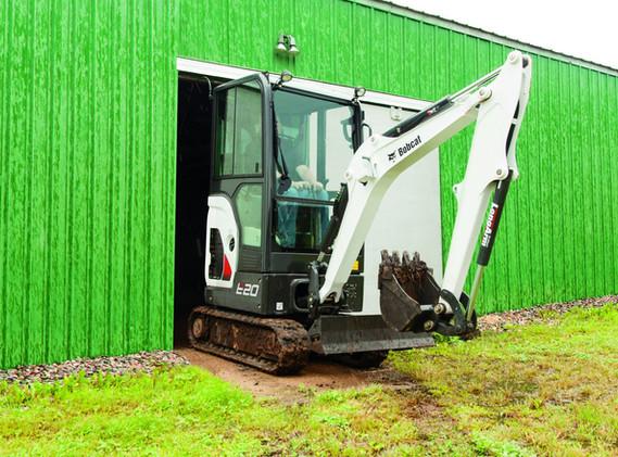 Excavatrice Bobcat E20